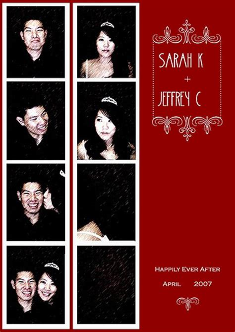 wedding invitations photo booth do it yourself photo booth style wedding save the dates