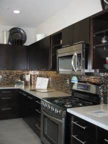 Kitchen Backsplash With Dark Cabinets Tiles Tiles And More Tiles Mosaics That Liven Up Any