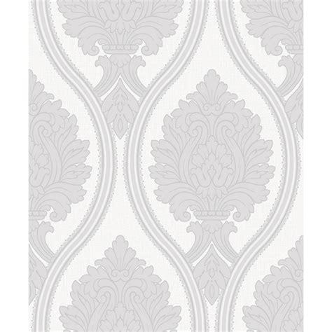 grey wallpaper b m b m gt arthouse corona grey damask wallpaper 312040