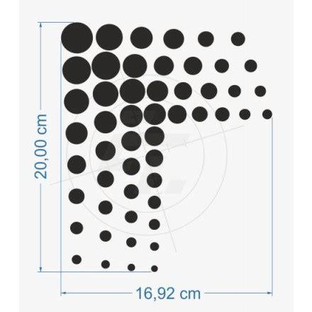Aufkleber Designen Bestellen by Aufkleber Schmuckecke Design Punkte