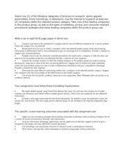 Strayer Mba Curriculum by Mba Bus508 Contemporary Corporate Strayer Page 1