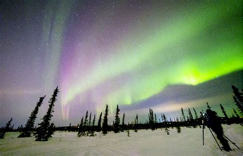 can you see the northern lights in fairbanks alaska how can you see the northern lights