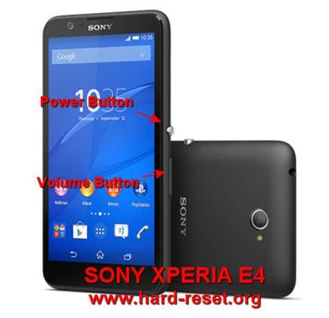 Sony E4 E2053 4g how to easily master format sony xperia e4 e4g e2104