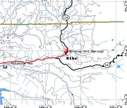springs oregon map belknap foley springs