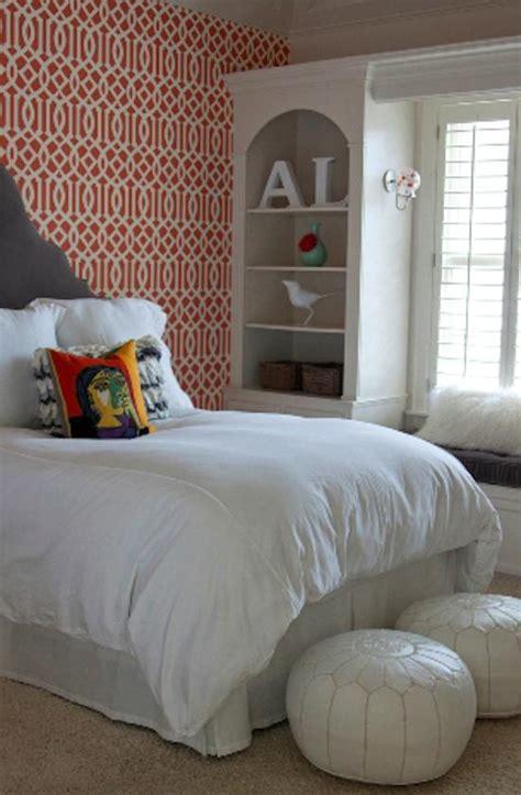 Bueno  Dormitorios Con Papel Pintado #3: Decorar-la-paredes-dormitorio-juvenil-rojo.jpg