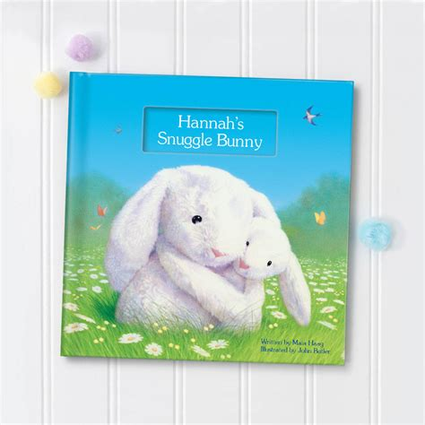 snuggle bunnies books my snuggle bunny personalised book by i see me
