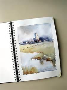 sketchbook watercolor paper edo hannema watercolorart sketch on seawhite paper