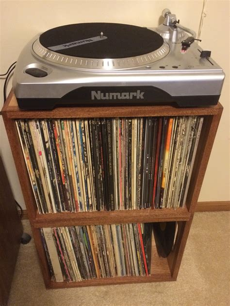 storage for record albums with well made vinyl record
