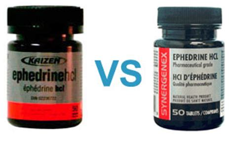 kaizen ephedrine versus synergenex which is the best