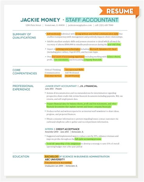 cb resume here s how to use descriptions to tailor your resume