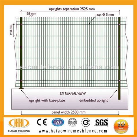 iso high quality low price ce iso9001 high quality low price garden border fence
