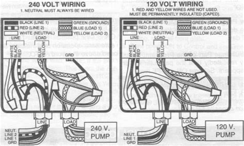 pool timer wiring diagram intermatic pf1102t and pf1103t time