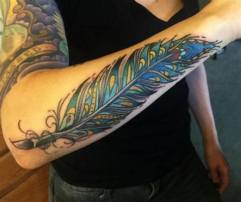 tattoo feather sleeve best feather tattoo designs and meanings