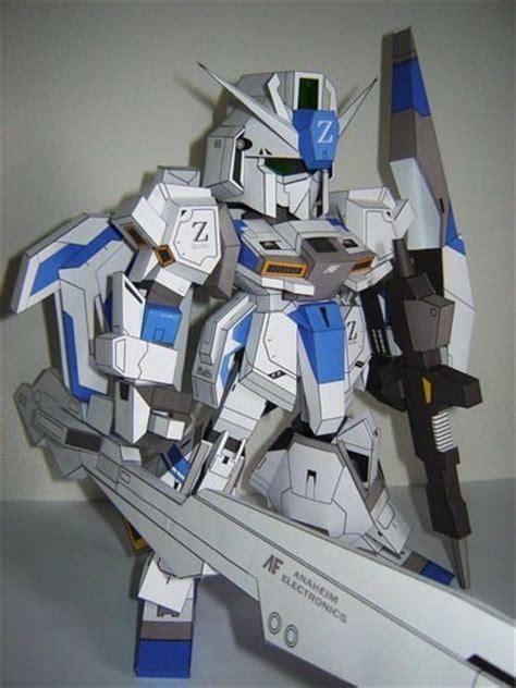 Sd Gundam Papercraft - new paper craft sd msz 006 3as strike white zeta gundam