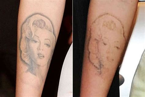 megan fox marilyn tattoo prison tattoos its an elite club but growing