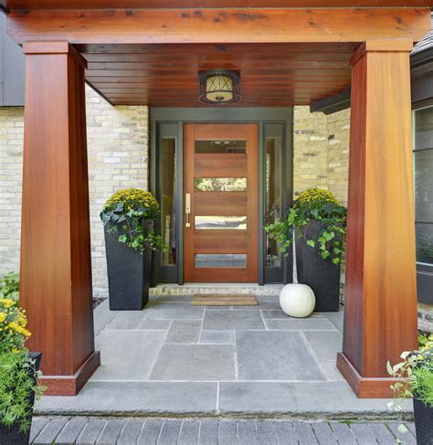 Entrance Front Doors Contemporary Front Doors Landscape Contemporary With Concrete Entry Fern Front Beeyoutifullife