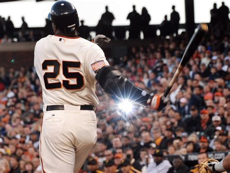 a year after barry bonds became the home run king his