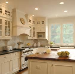 Brick Wainscot White Kitchen Traditional Kitchen Chicago By The