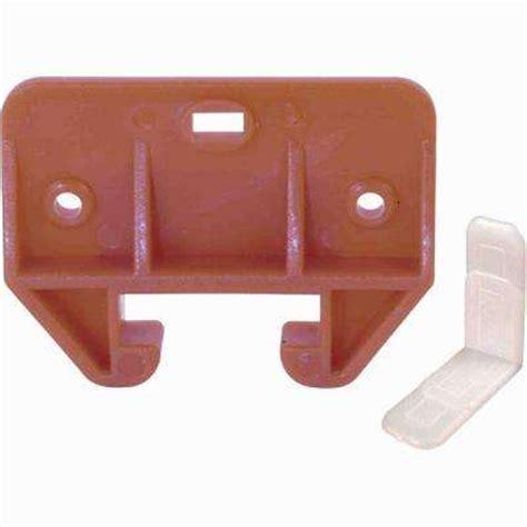 wooden drawer track kit back brackets guide tracks drawer hardware cabinet