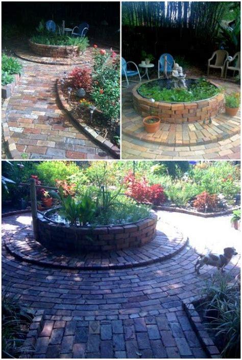 amazing ways  reuse  bricks diycraftsguru