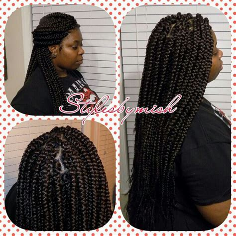 poetic justice braids step by step poetic justice braids styles by mish pinterest