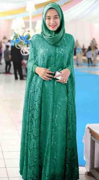 Baju Muslim Anak Prempuan Gamis Spandex Jersey Blazer baju gamis pesta brokat terbaru renita toska model baju gamis terbaru