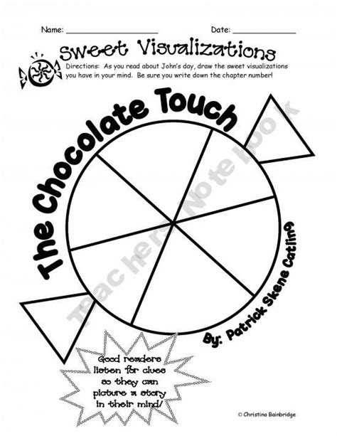 chocolate touch worksheets the world s catalog of ideas