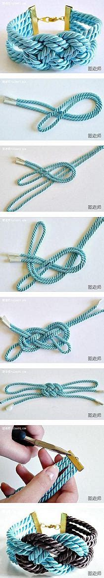 How To Make String Step By Step - how to make colorful string bracelet step by step diy i