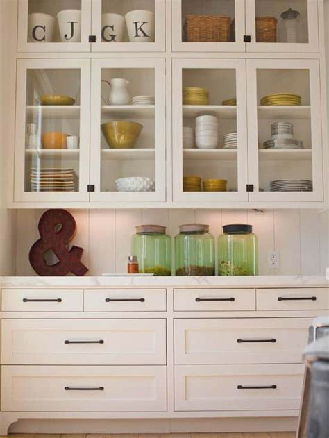 how to decorate kitchen cabinets with glass doors 30 gorgeous kitchen cabinets for an interior decor