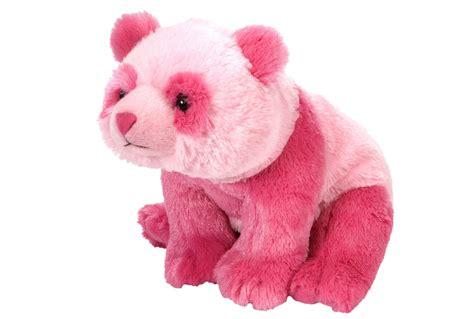Panda Pink pink panda stuffed animal panda
