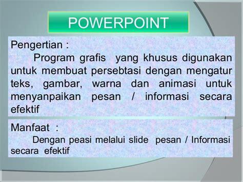 tutorial powerpoint untuk pemula belajar powerpoint 2007 untuk pemula ok