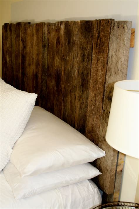 Sprig Pallet Headboard Build Wood Headboard