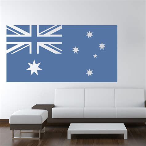 australian flag australia rest   world wall stickers