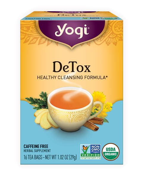 David S Tea Detox Vs by Detox Yogi Tea
