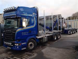 Scania Truck Accessories Ireland Scania Drawbar Ready For Timber Trucks