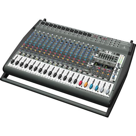List Mixer Behringer Behringer Pmp6000 Europower 20 Channel Powered Mixer 2x800w