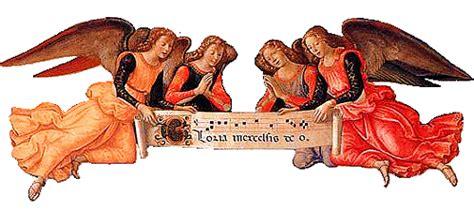 cantano gli angeli testo canti liturgici e religiosi parrocchia di santa