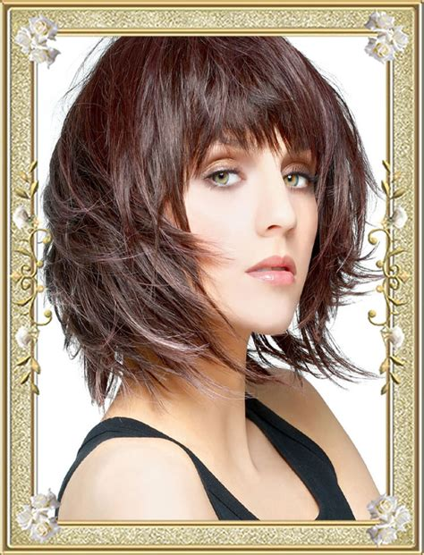 medium haircut with bangs 55 medium hairstyles with bangs in 2017 right bang for