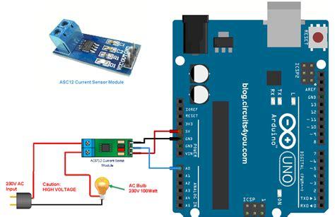 Dijamin Ori Arus 30a Ac Dc Current Sensor Acs712 Module For Ardui ac current measurement using acs712 circuits4you
