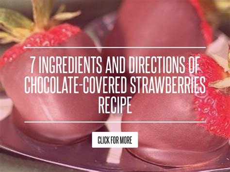 7 Ingredients And Directions Of Chocolate Dipped Fruit Kabobs Receipt by 7 Ingredients And Directions Of Chocolate Covered