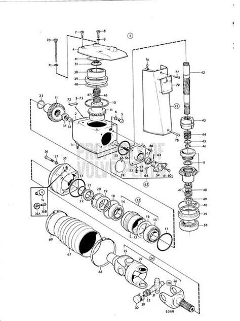 volvo penta  parts diagram automotive parts diagram images