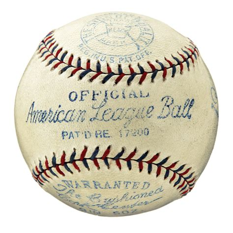 Lot Detail Babe Ruth And Lou Gehrig Signed Baseball