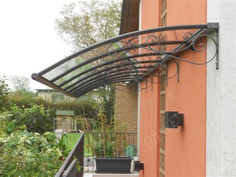 tettoie trasparenti per esterni pensiline in vetro plexiglas e policarbonato adatte per