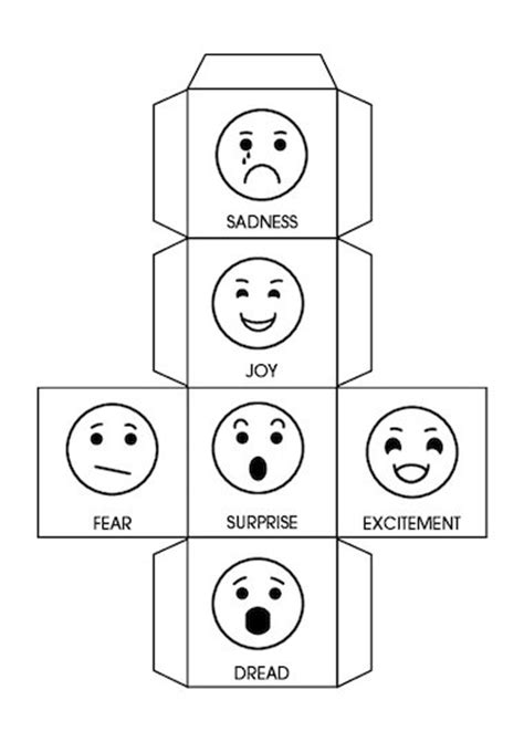 storytelling emotions dice free primary ks2 teaching