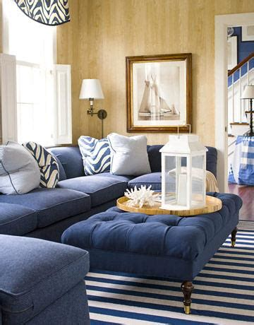 navy blue sectional sofa cottage living room