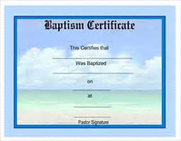 free printable baptism certificates certificatetemplates net