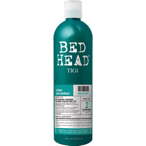 bed head shoo and conditioner tigi bed head urban antidotes recovery conditioner 750ml
