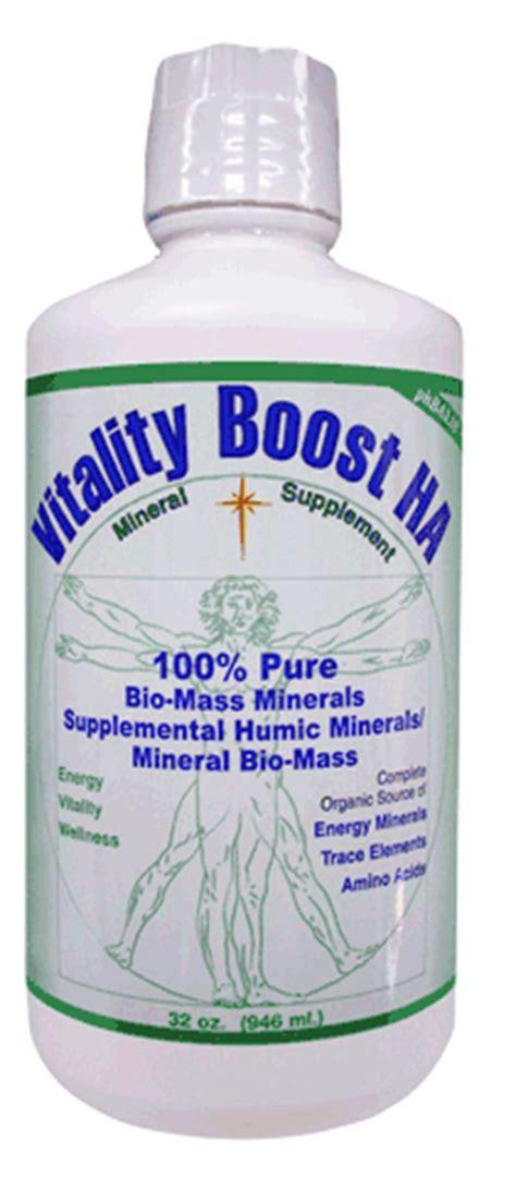 Fulvic Acid Detox Tin by Morningstar Vitality Boost Ha Detox Liquid Mineral Supplement