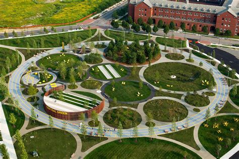 Landscape Architect Of Central Park Philadelphia Navy Yards Corner Field Operations