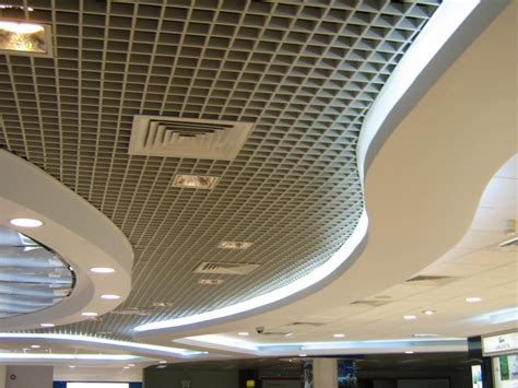 Open Cell Ceiling U Tone Pvc Laminated Gypsum Ceiling Tiles Metal Ceiling